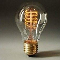 Ampoule Filament Spirale 40 Watt Decoration