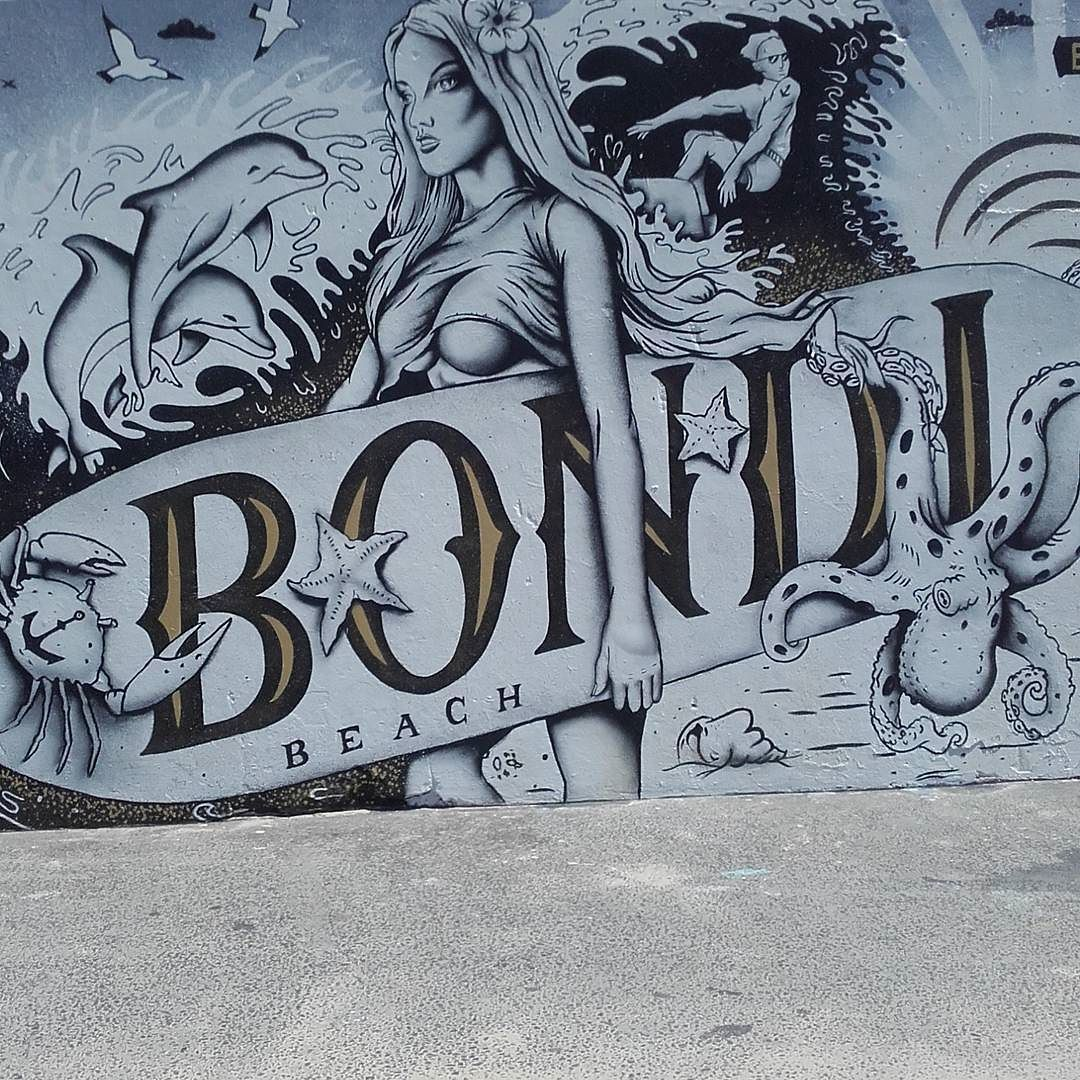 Bondibeach bondibeachsydney graffiti by owensv ift