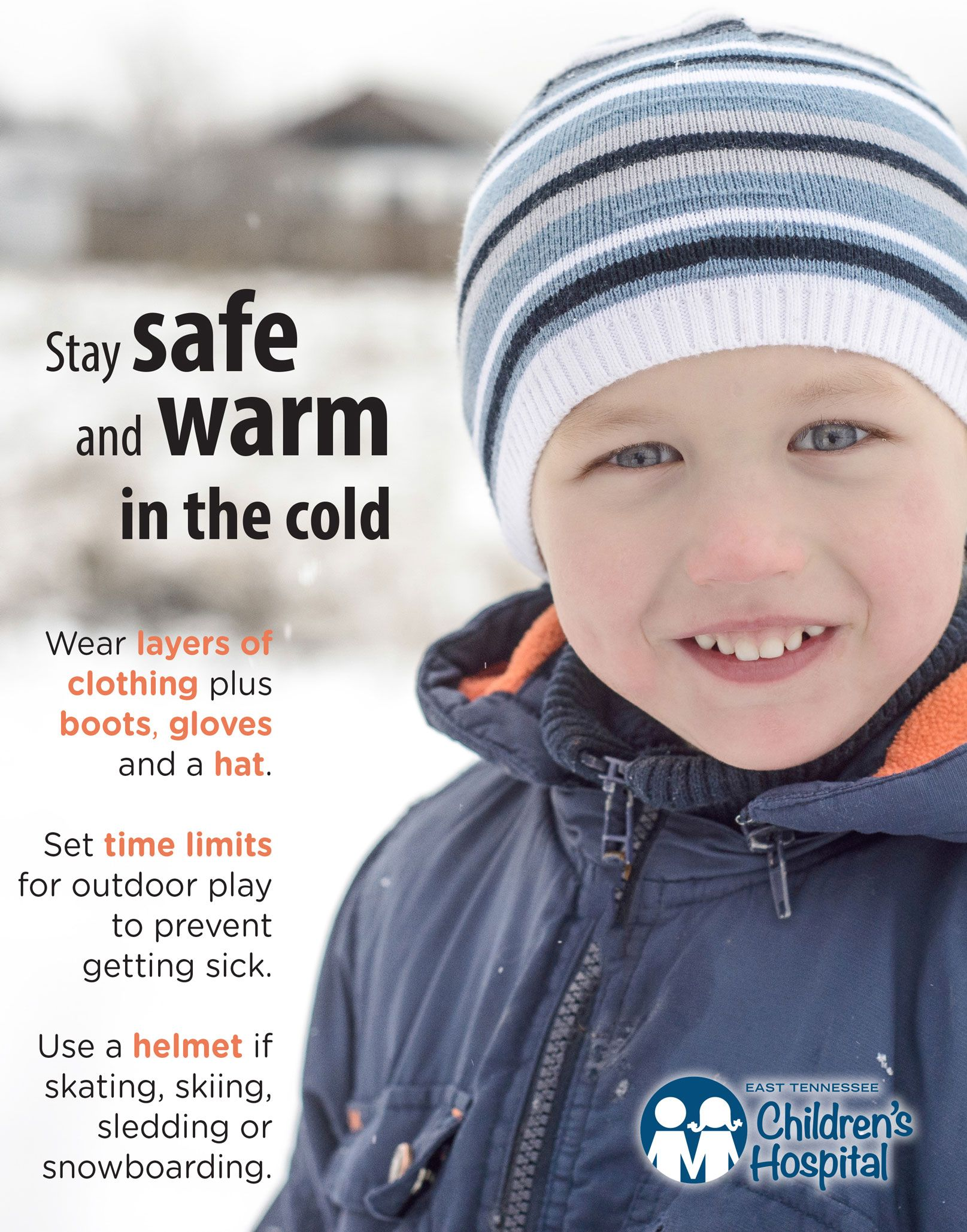 Stay safe and warm in the cold weather with these winter