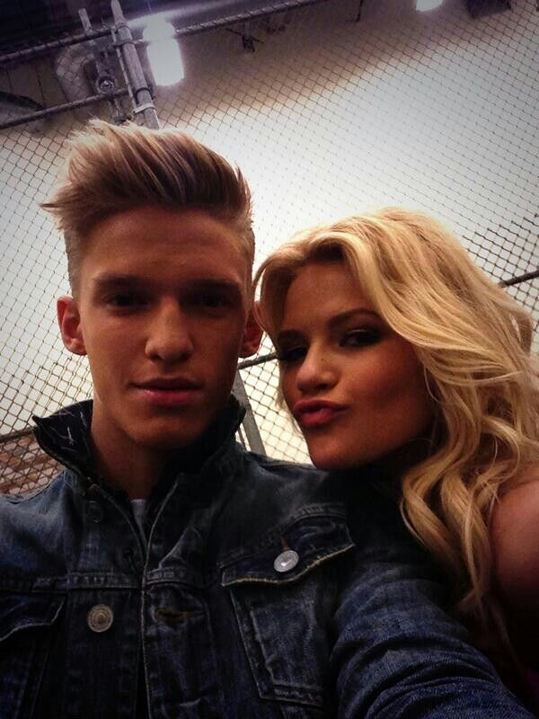 Cody and his dancing partner