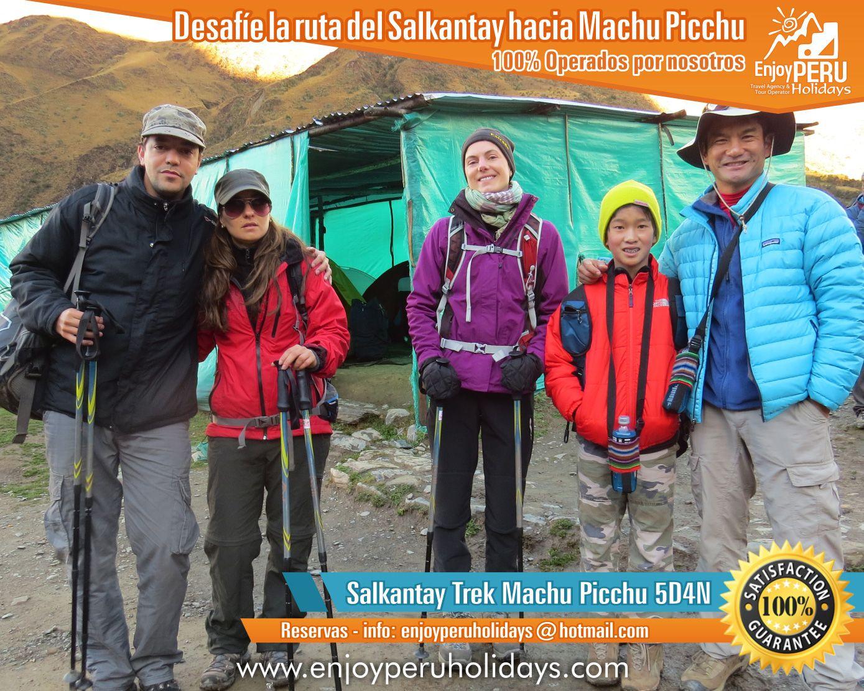 Agencia Operadora ENJOY PERU HOLIDAYS. Mejores Operadores de la ruta Salkantay, Reservas e informes Agencia   Operadora ENJOY PERU HOLIDAYS. Mejores Operadores de la ruta Salkantay, Reservas e informes a   enjoyperuholidays@hotmail.com - www.salkantay-trek.org - www.enjoyperuholidays.com -   www.youtube.com/enjoyperuholidays