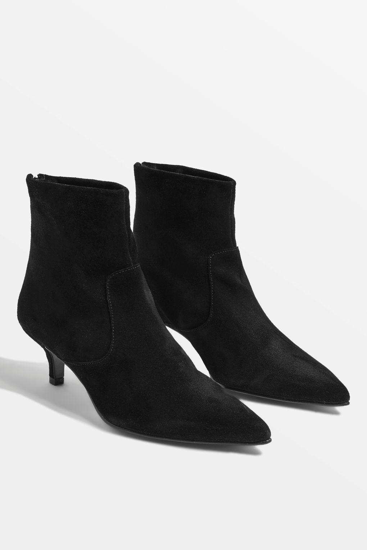 Aspen Kitten Heel Ankle Boots In 2020 Kitten Heel Ankle Boots Boots Kitten Heel Boots