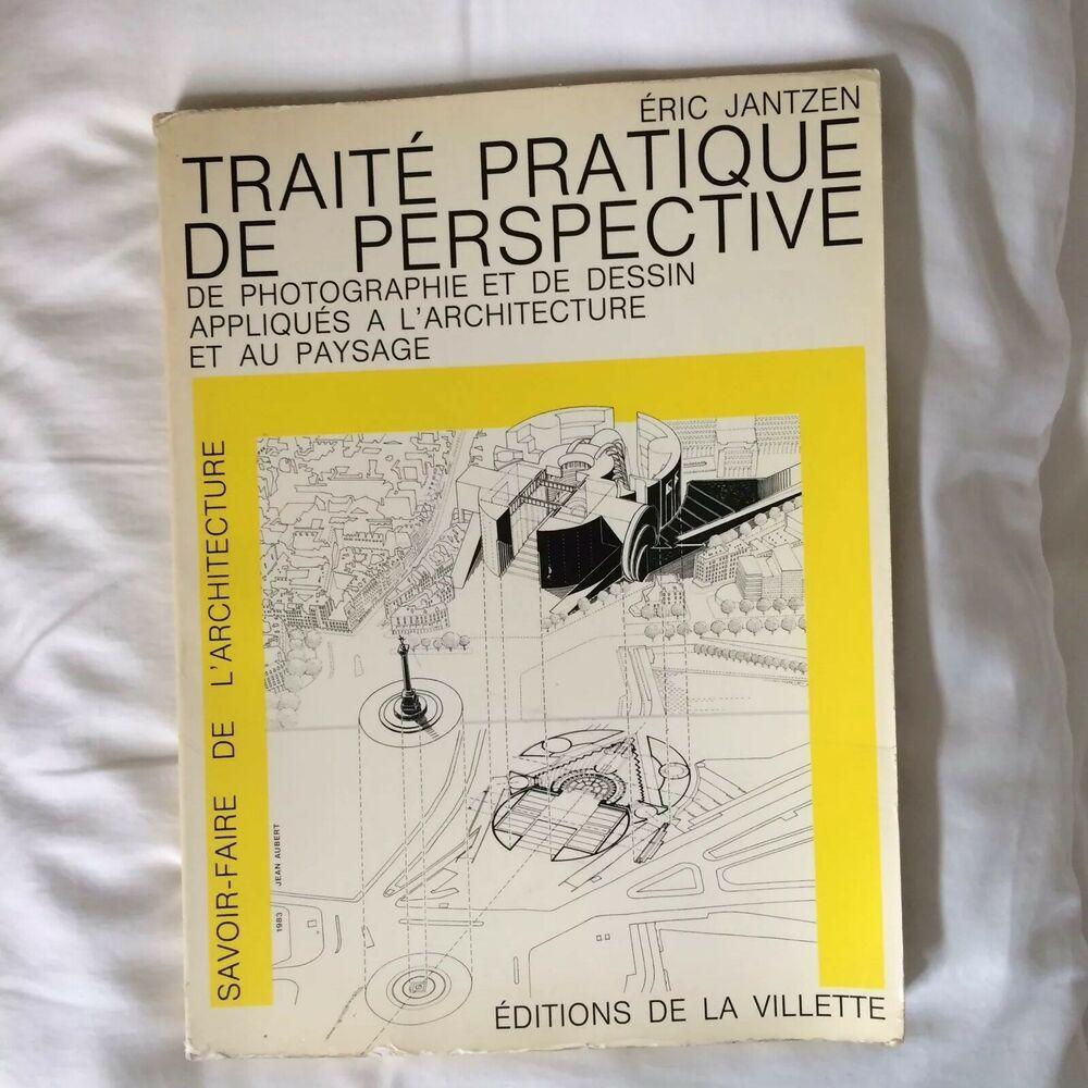 Traite Pratique De Perspective Eric Jantzen Editions De La Villette 1985 Things To Sell Design Language Perspective