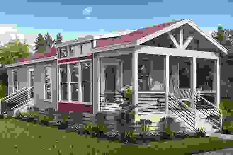 Smart Cottage Sandpiper C44ep8 Home Plan By Oak Creek Homes In Oak Creek Home Plans Oak Creek Homes Cottage Oak Creek
