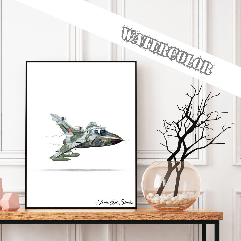 Fighter Jet Print Fighter Plane Printable Aircraft Print Transportation Decor Airplane Nursery Nursery Wall Art Big Boy Decor With Images Boy Decor Nursery Wall Art Airplane Nursery