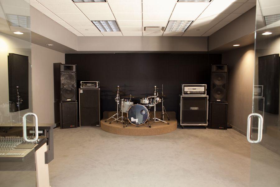 Band Rehearsal Space Google Search Studio Build Rehearsal Room Basement Studio