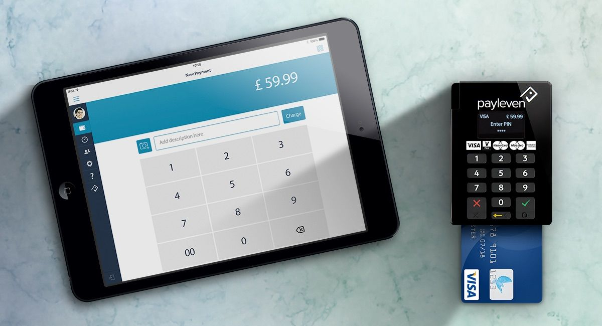 Payleven's card reader