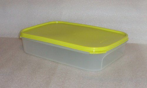 Tupperware Modular Mates Rectangle 1 Container Margarita Green Seal By Tupperware 24 99 Tupperware Kitchen Storage Organization Clear Container Tupperware