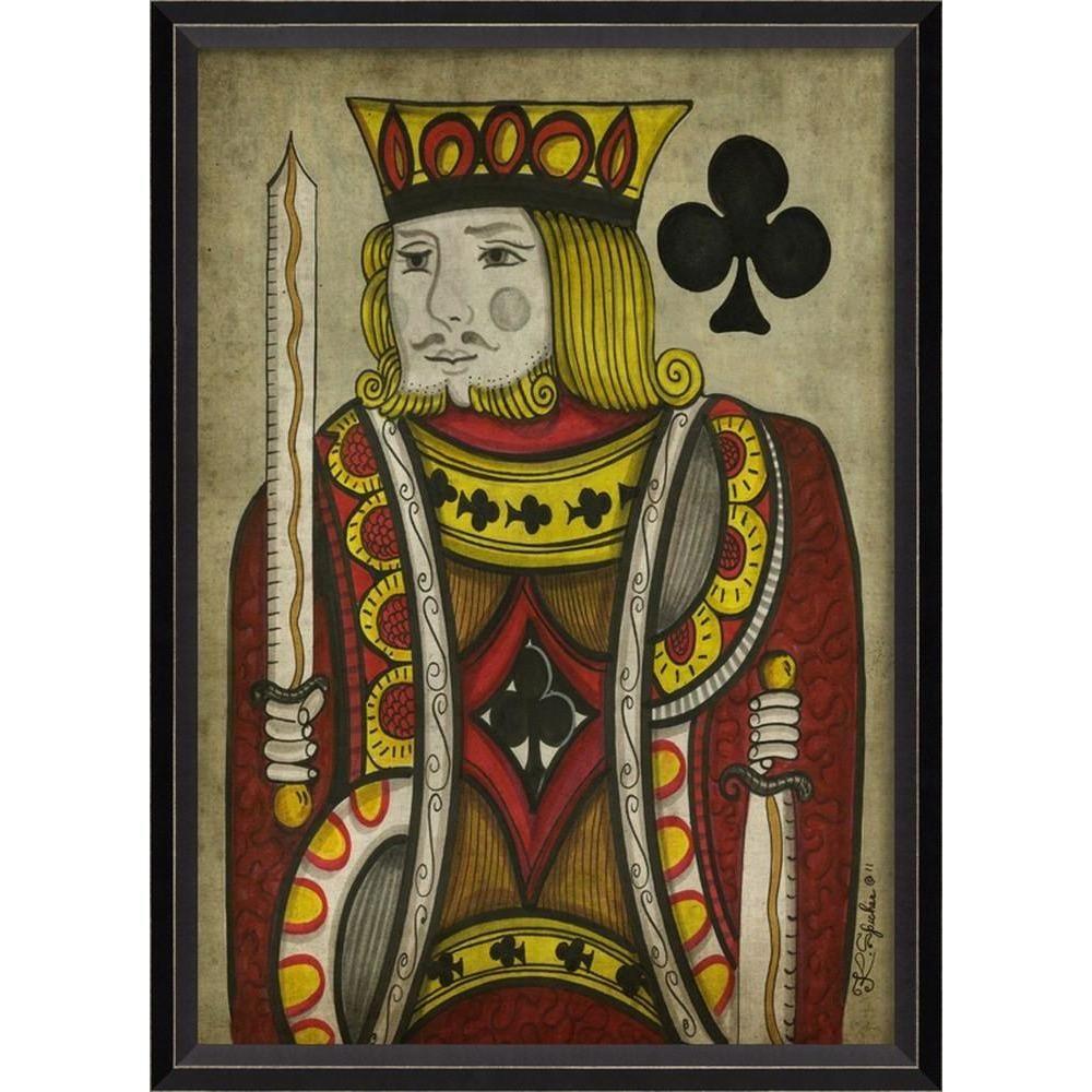 Spicher & Co. King of Clubs Card Art
