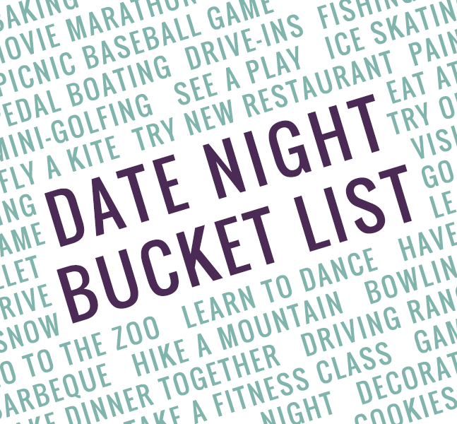 Our 2015 Date Night Bucket List | Buckets, Relationships and Married ...