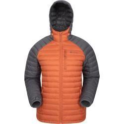 Photo of Henry ii men's down jacket – orange mountain warehousemountain warehouse