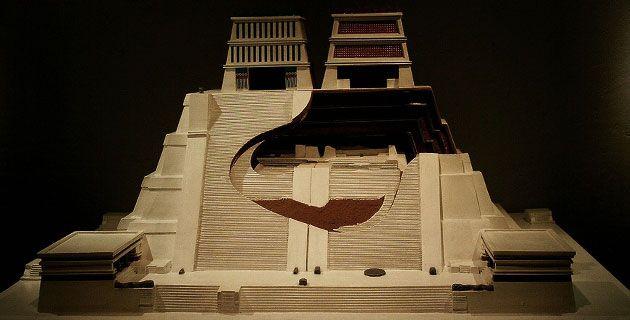 El Templo Mayor. Etapas de construcción. (Maqueta), Mexico.