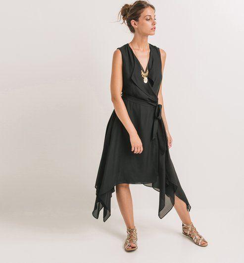 16e44ad6b Zavinovací šaty černá - Promod | Passion for (different) fashion ...