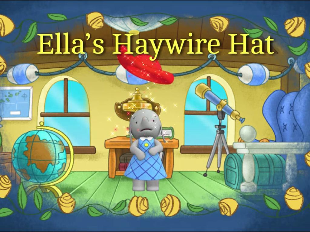 Ella S Haywire Hat Christmas Ornaments Holiday Decor Novelty Christmas