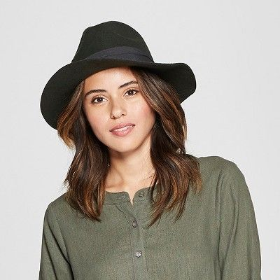 a772d9e9256993 Universal Thread Women's Panama Hat - Universal Thread Olive ...