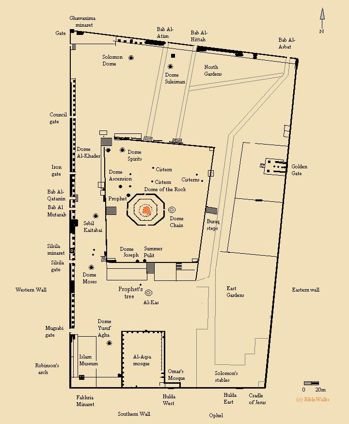 Temple Mount easy to read   ♥ Israel ♥   Pinterest   Temple ...