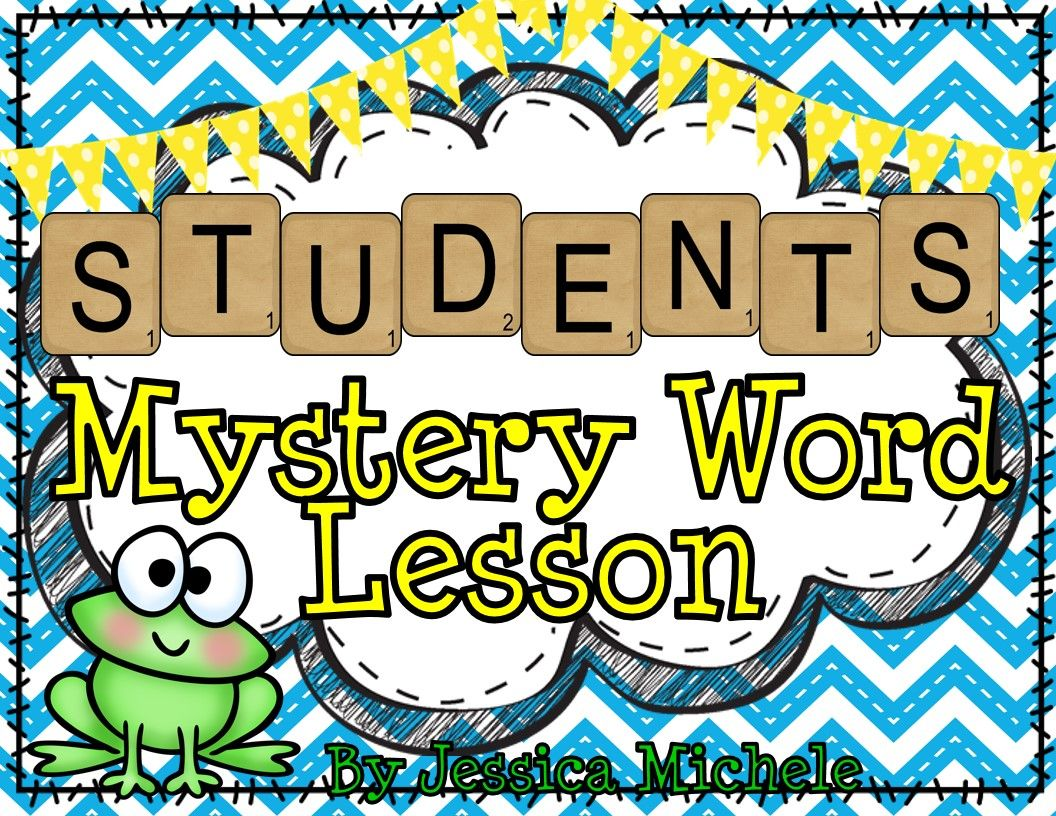 Students Mystery Word Lesson Making Words