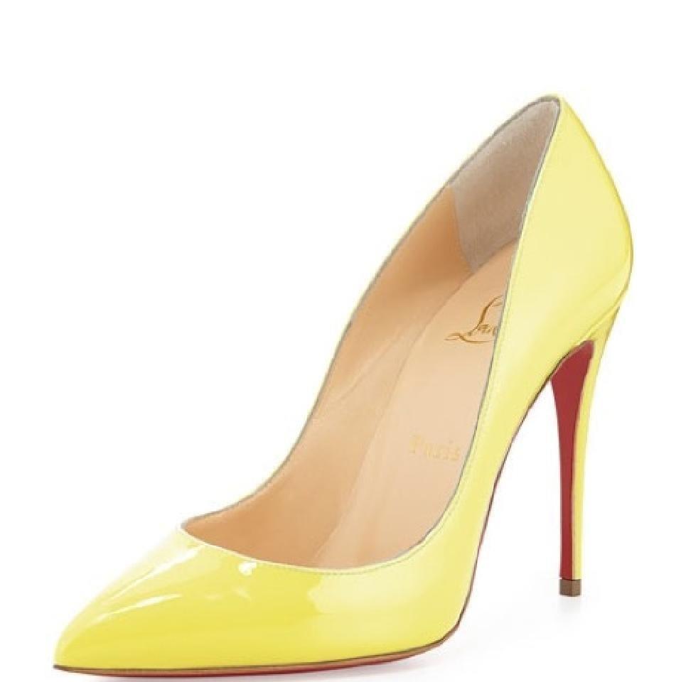 aea09d69f75 Christian Louboutin PIGALLE FOLLIES 100 Patent Heels Pumps Shoes ...