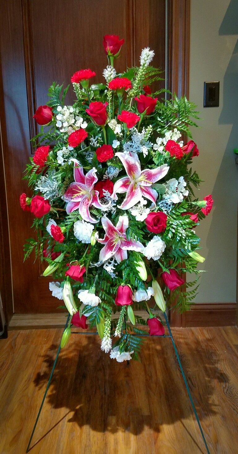 Pin By Cloyce Looney On Flower Arrangements Pinterest Sympathy