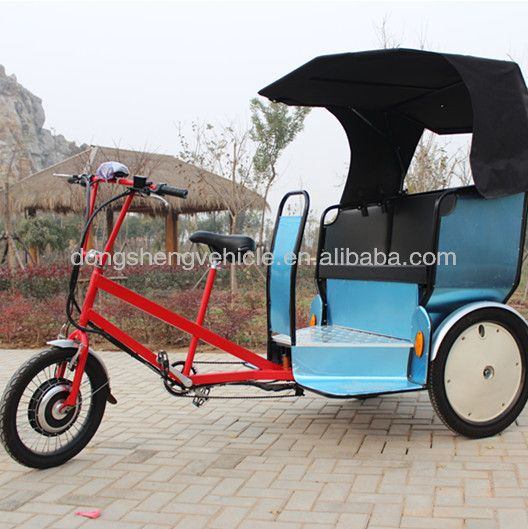 Three Wheel Motorcycle/electric Rickshaw/bicycle Taxi/bike