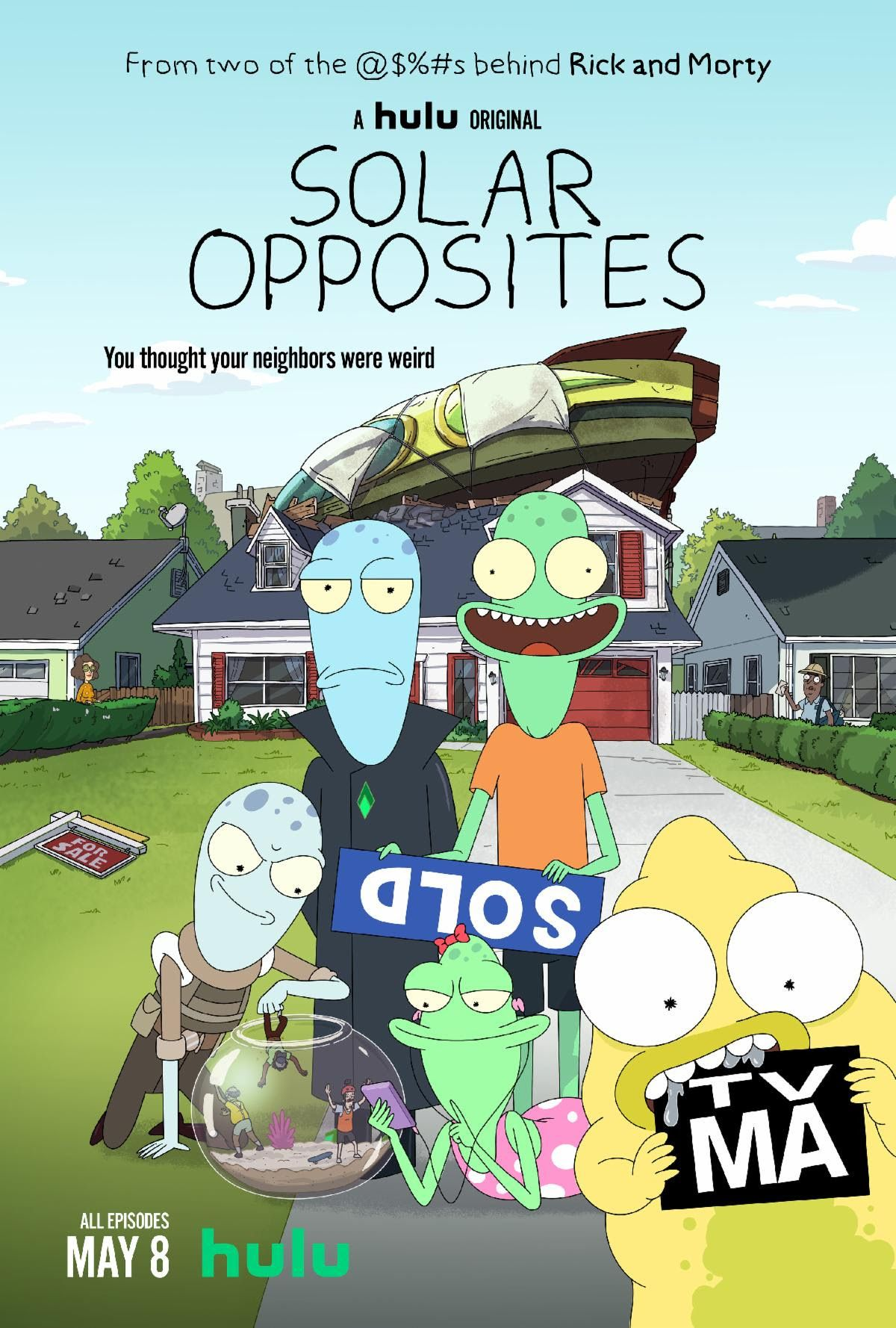 Pin By Oliver Norcom On Inspiration For Going Into Acting Solar Justin Roiland Rick And Morty