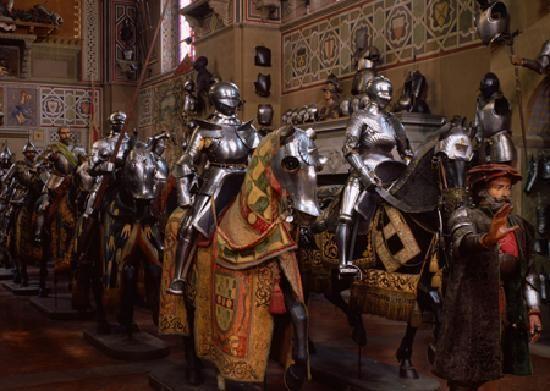 Firenze Museo Stibbert Florence Province Of Florence Tuscany Region Italy 中世の鎧 中世の騎士 騎士の鎧