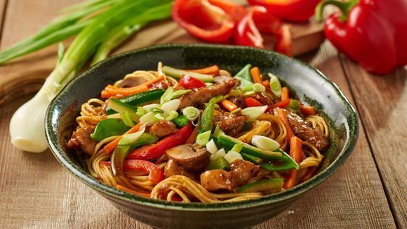 Asiatische kuche gemuse