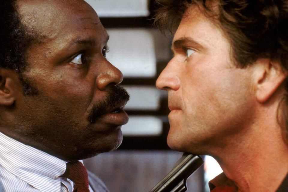 Lethal Weapon (1987) - Danny Glover & Mel Gibson. One has a death wish and the other one is gettin' too old for this #@*&!!