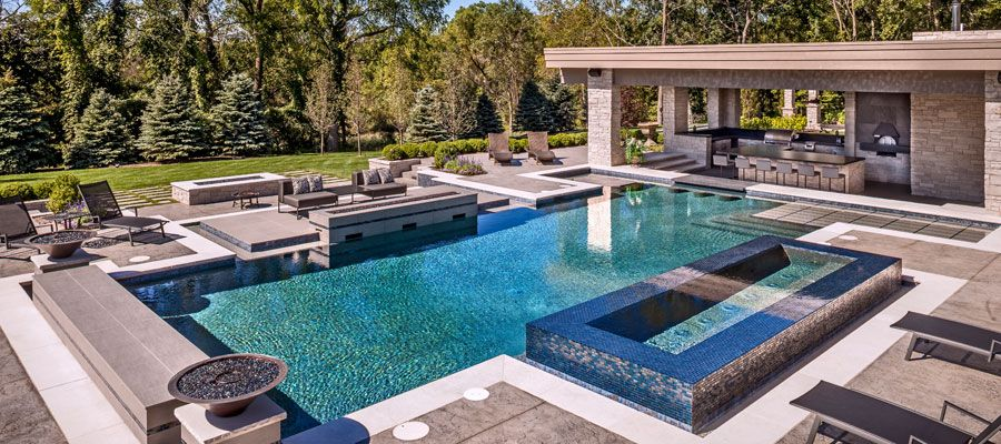 Pin by Christina Houston Gonzales on Backyard | Modern ... on For Living Lawrence Fire Pit id=75248