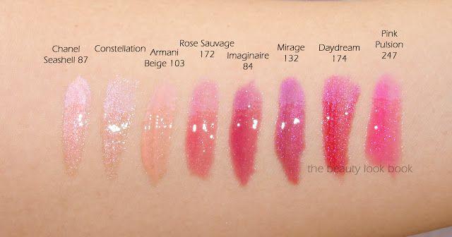 Lip Gloss Chanel Lip Gloss Lipgloss Swatches Pink Lips