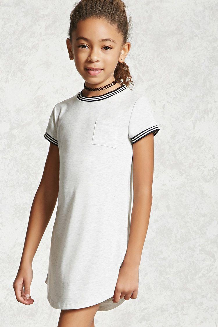 f67a522dc87ed7 Girls Ringer T-Shirt Dress (Kids). Girls Ringer T-Shirt Dress (Kids) Forever  21 ...