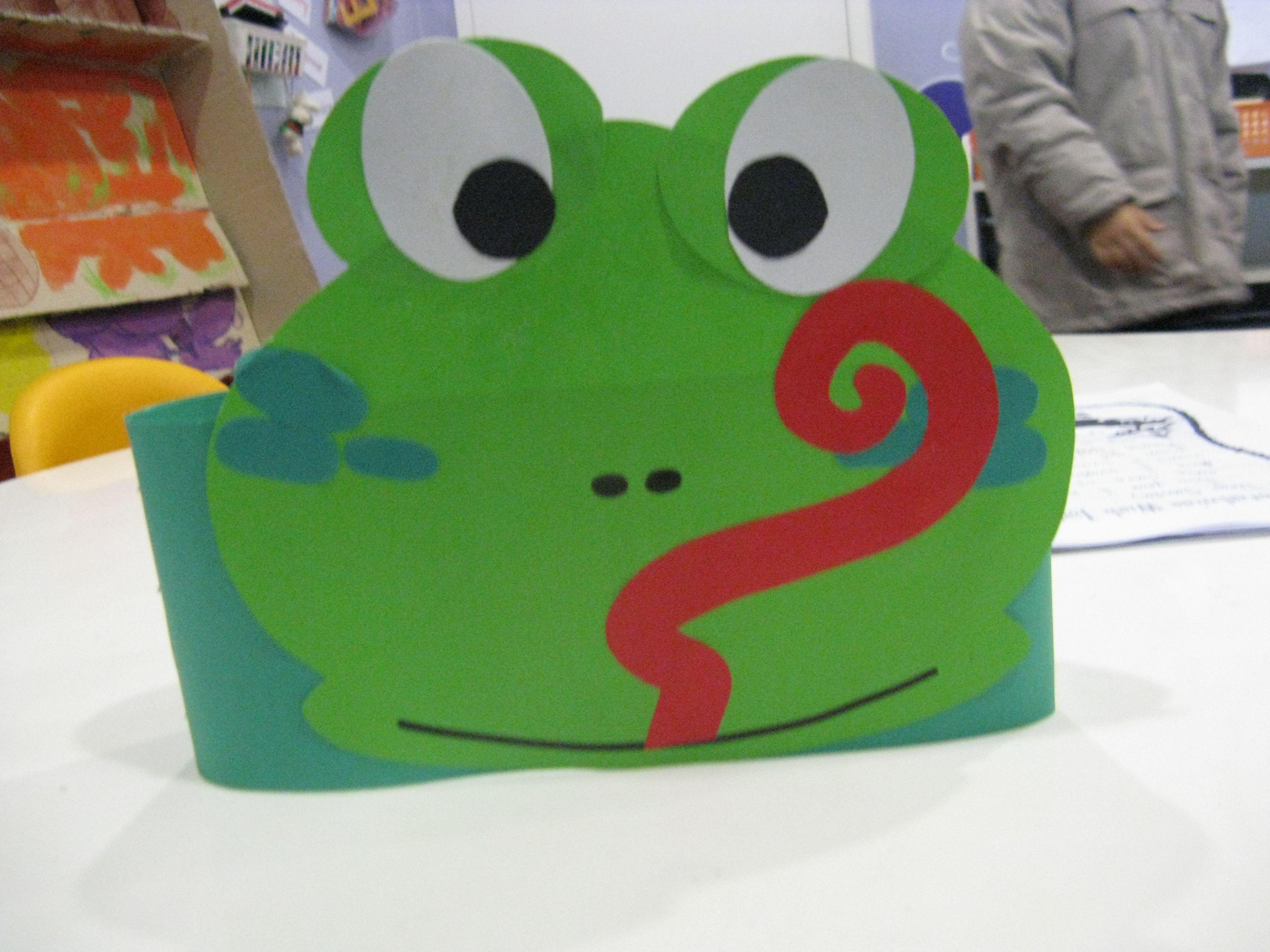 Frog Headband | Classroom Crafts/Activities | Pinterest | Frogs ...