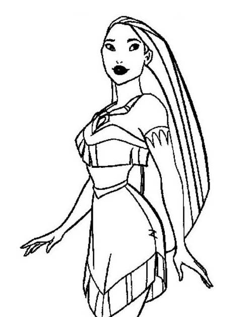 Pocahontas Cool Coloring Pages For Kids Fgl Printable Pocahontas Coloring Pages For Kids Coloring Pages Disney Princess Pocahontas Princess Pocahontas