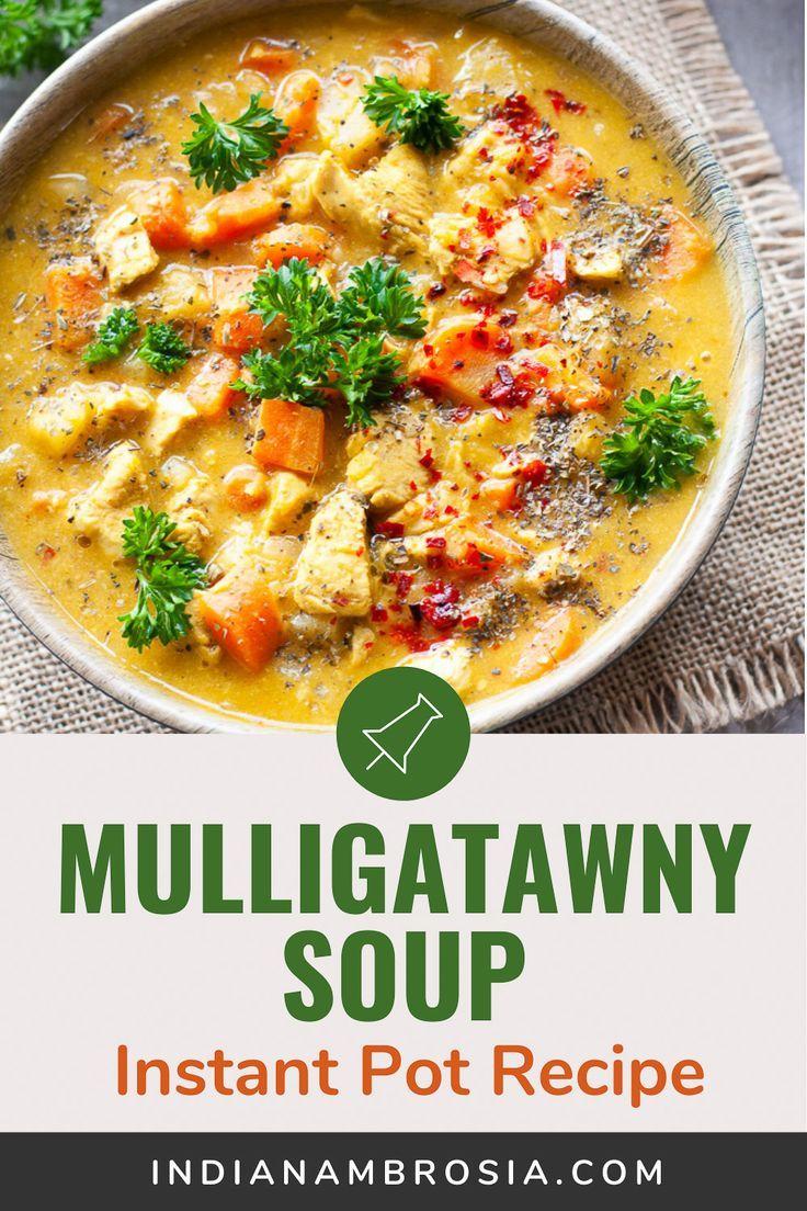 Instant Pot Mulligatawny Soup