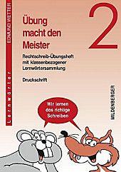Ubung Macht Den Meister 2 4 Schuljahr 2 Schuljahr Druckschrift Edmund Wetter Kartoniert Tb Buch In 2020 Druckschrift Meister Und Ubung