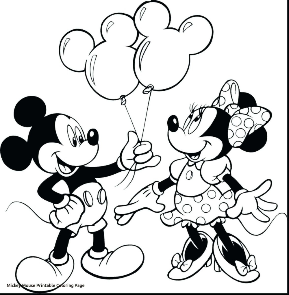Mickey Mouse Coloring Pages Page And Minnie Custom Kids Mickey Mouse Coloring Pages Minnie Mouse Coloring Pages Minnie Mouse Drawing