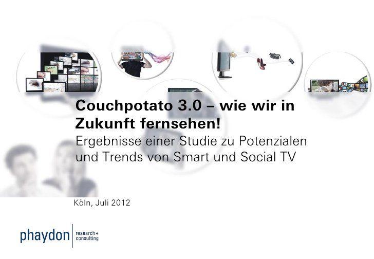 Couchpotato 3.0 - wie wir in Zukunft fernsehen!