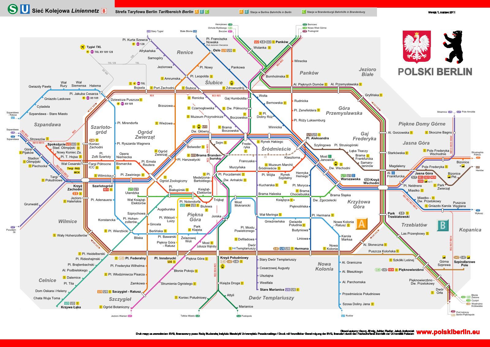 Polski Berlin Berlin Map Germany