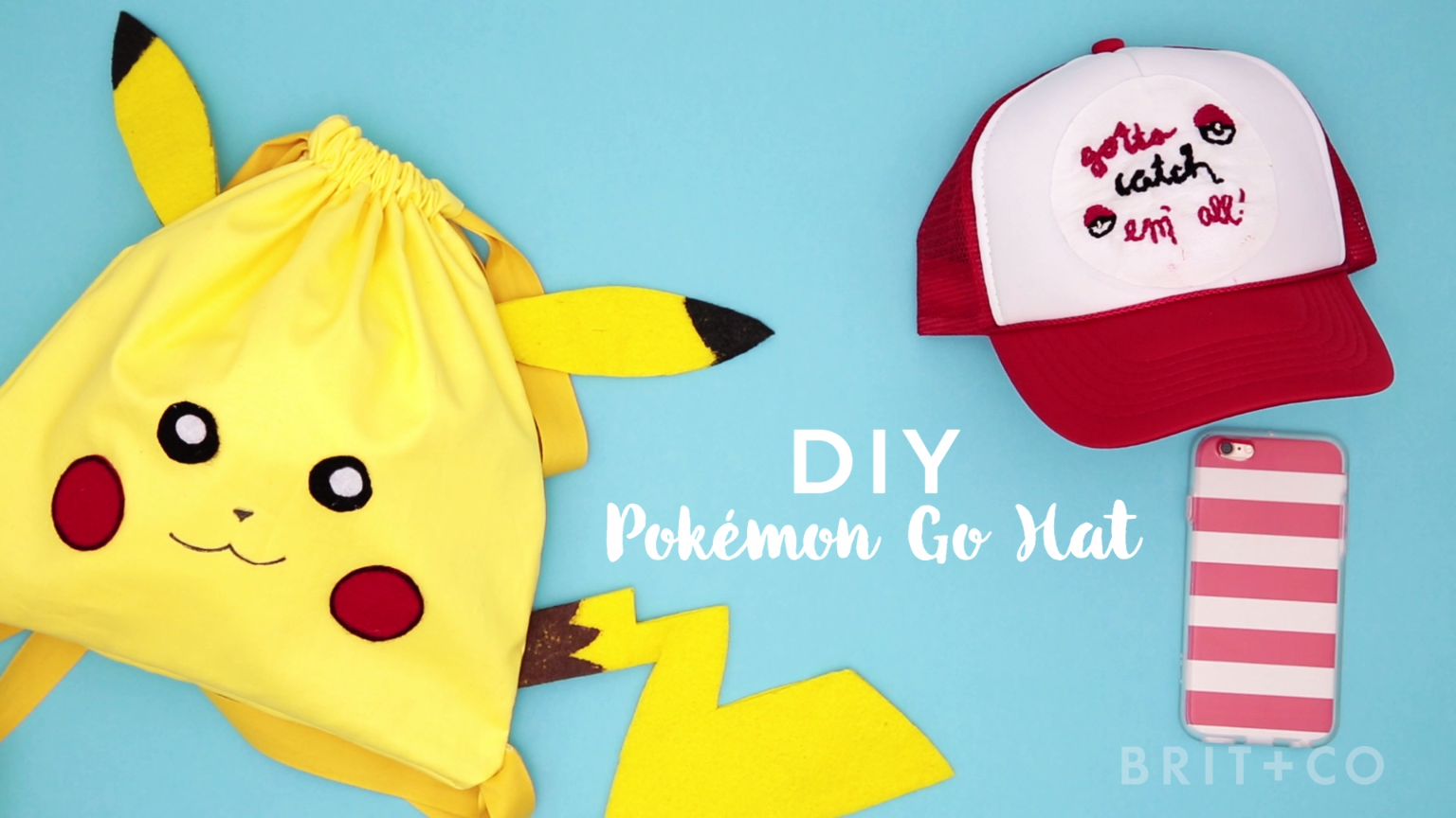 a10ef3db771 How to make a Pokemon hat.