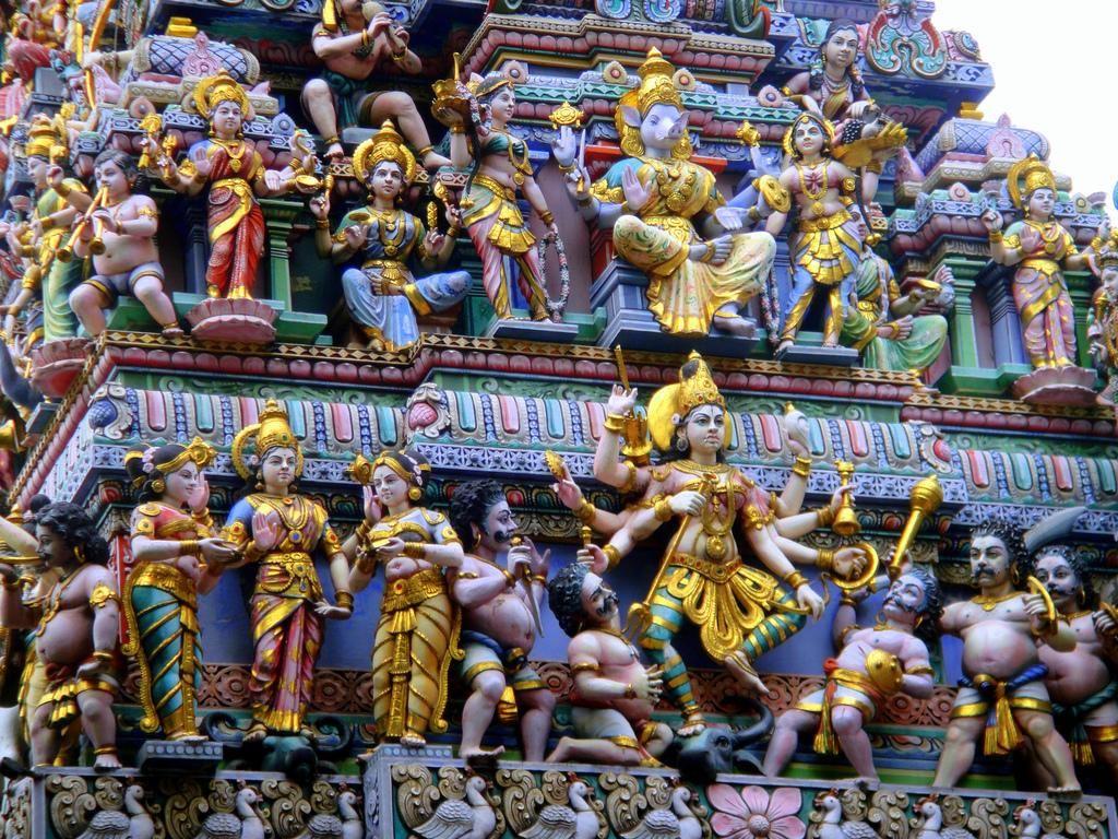 Sri Veeramakaliamman temple Singapore island, Singapore