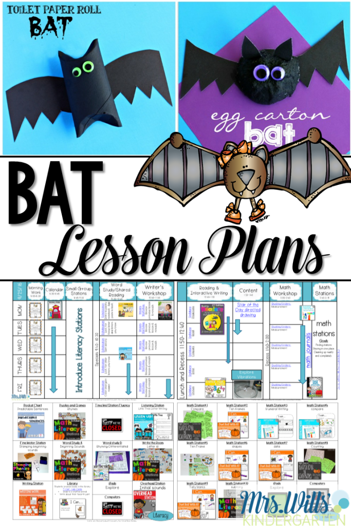 Bat Lesson Plans For Kindergarten Is Here Math Poetry Center Activities And Craft Ideas See How I Lessons Around The Book Stellaluna