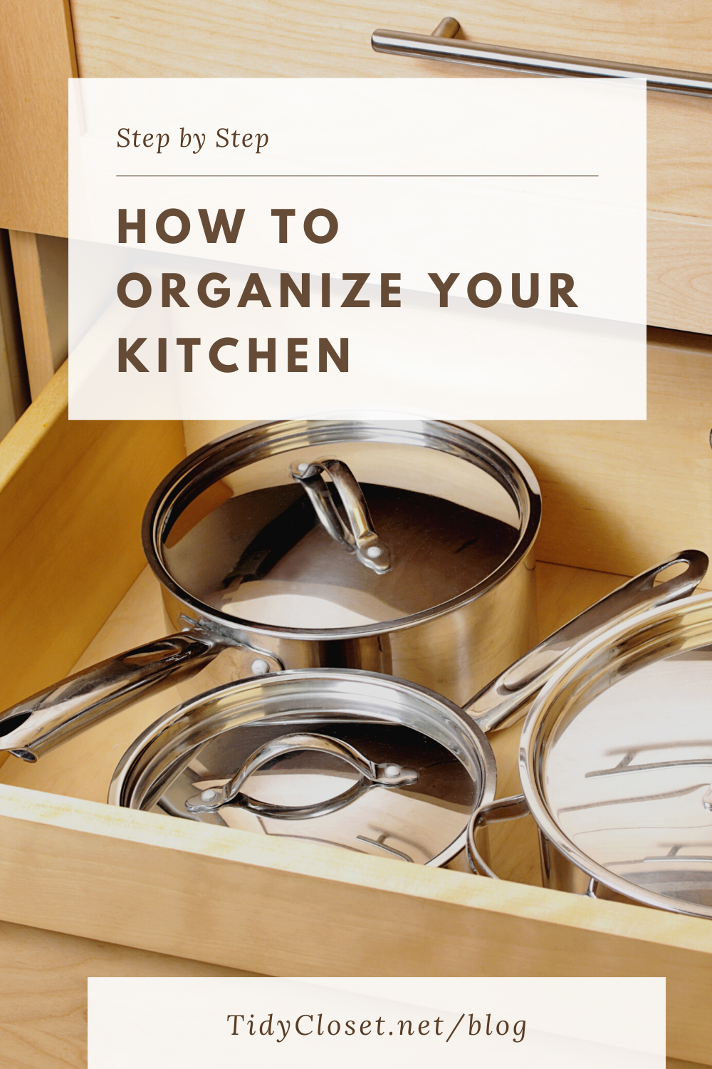 How to organize your kitchen step by step in 2020 ...
