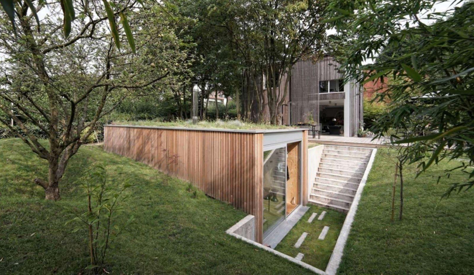 Design Your Own Earthbag Home Underground Garden Office Atelier Pam Amp Jenny House Ideas