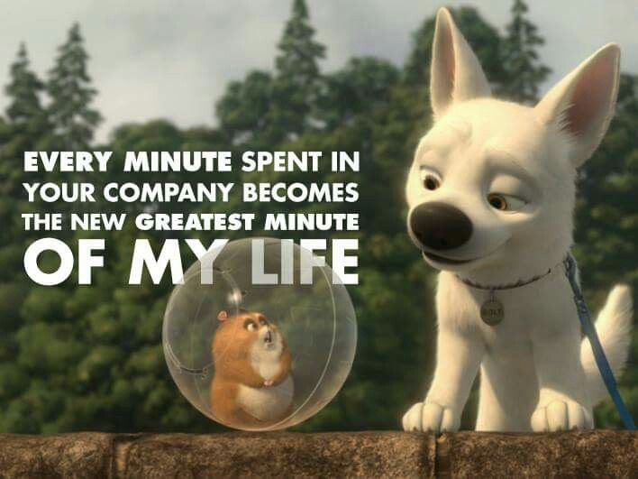 Every minute spent in your company becomes the new greatest minute of my life.
