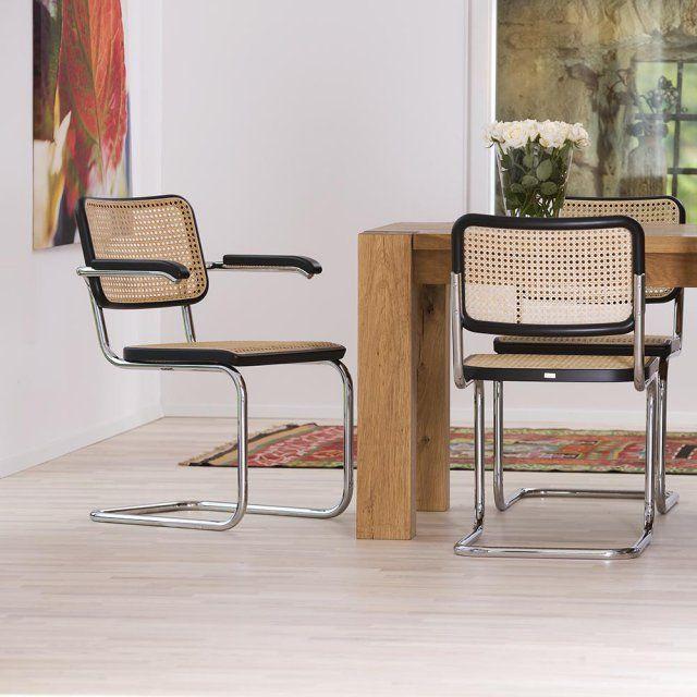 Le Retour Du Cannage Dans La Deco En 20 Inspirations Chaise Design Fauteuil Bureau Design Cannage