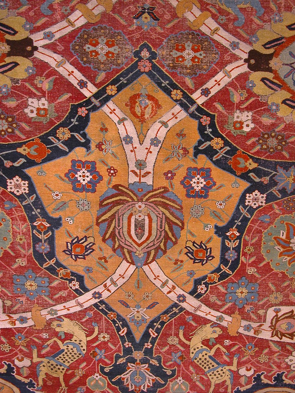 Safavid Carpet Early 17th Century The