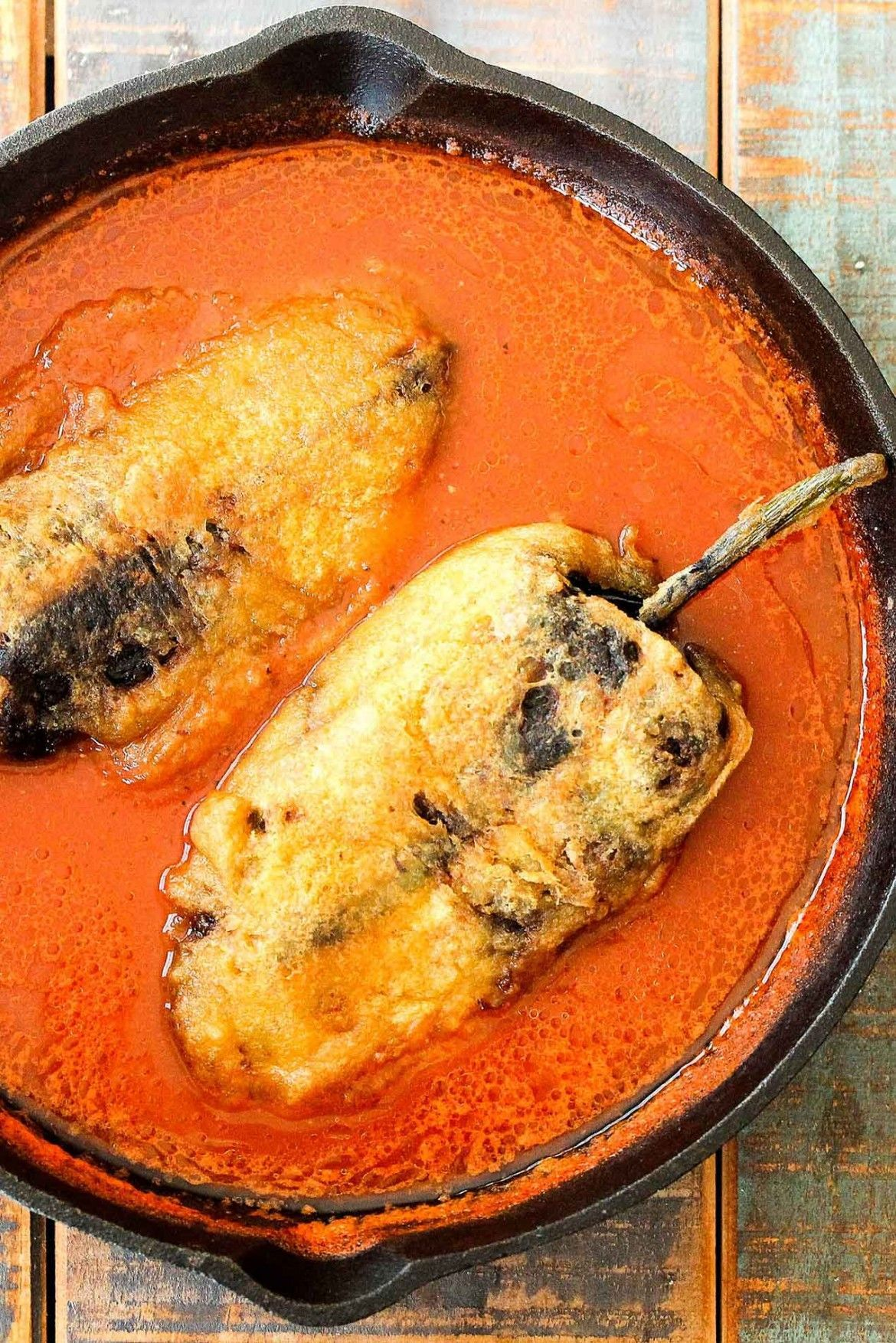 Chiles Rellenos Stuffed with Mexican Queso #mexicanfoodrecipes ...