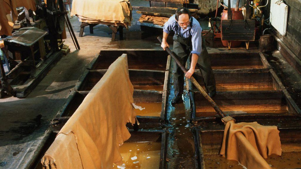 The Rise of Italian Leather Tanneries: Treccani Milano's Tie to the Best  Leather Products | Leather industry, Leather, Italian leather