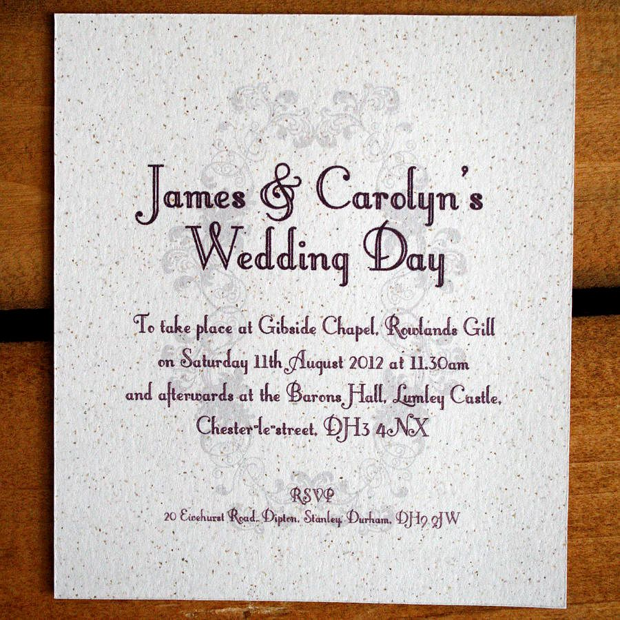 Best Informal Wedding Invitation Wording Templates with cha in