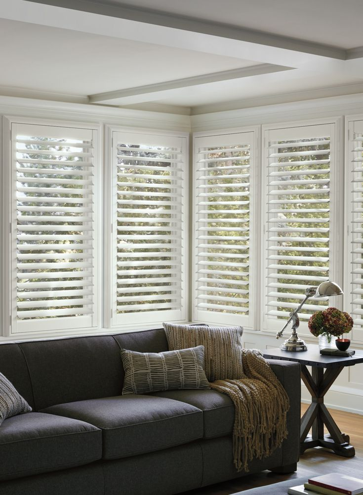 Luxaflex® Interior Shutters timeless style. Custom